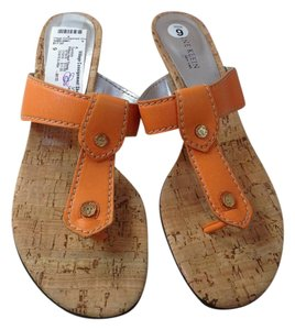 Anne Klein orange Sandals