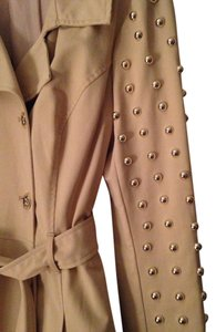 bebe Studded Trench Fall Trench Coat