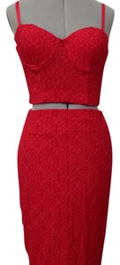 Wow Couture short dress Red on Tradesy