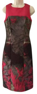 Carolina Herrera Brocade Bi-color Sleeveless Stunning New Never Worn Dress