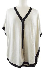 BCBGMAXAZRIA Cardigan Poncho Button Up Cape