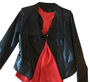 BCBGMAXAZRIA Leather Jacket