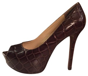 Enzo Angiolini Chocolate brown Platforms