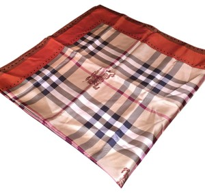 Burberry Horseferry Check Silk Square Scarf