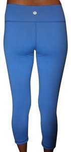 Lululemon Blue and Black Leggings