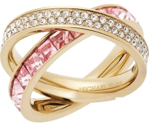 Michael Kors Michael Kors Brilliance Pave & Baguette Intertwined Ring