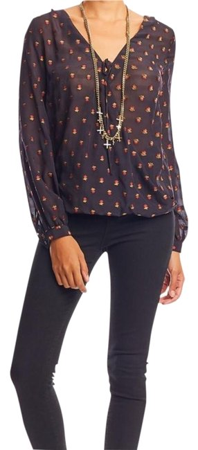 Preload https://item5.tradesy.com/images/nicole-miller-multicolor-embroided-flower-buds-vneck-long-sleeves-blouse-size-0-xs-19498949-0-3.jpg?width=400&height=650