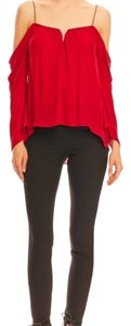 Nicole Miller Top Red