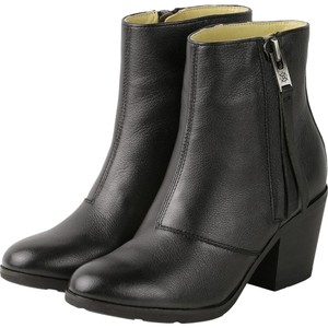 Other Ankle European Black Boots