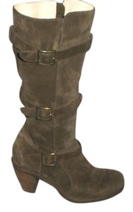 Via Spiga Suede Knee High brown Boots