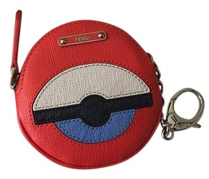 Fendi Fendi Bug Monster Key Ring Pouch Coin Purse Charm