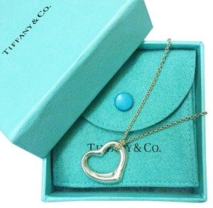 Tiffany & Co. Open Heart Elsa Peretti Necklace - Large