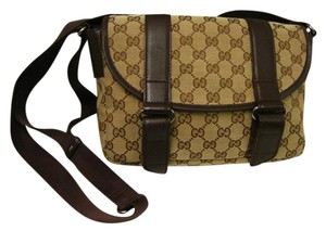 Gucci BROWN Messenger Bag