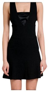 MCQ by Alexander McQueen Sheath Flare V-neck Dress