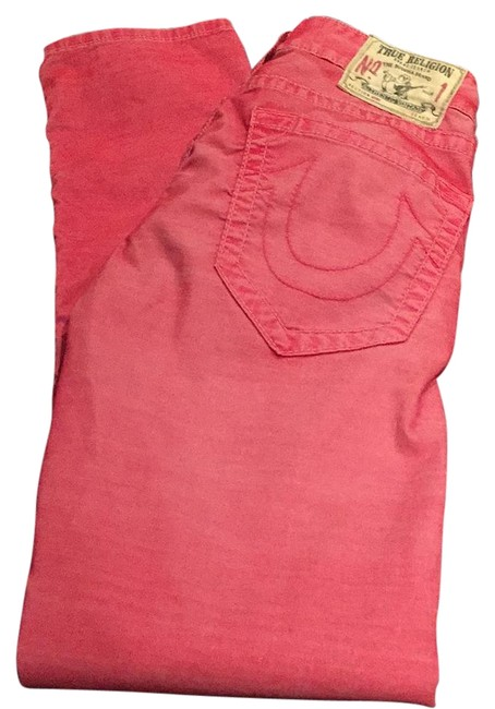 Item - Vintage Red Distressed Geno Slim Twill Relaxed Fit Jeans Size 31 (6, M)