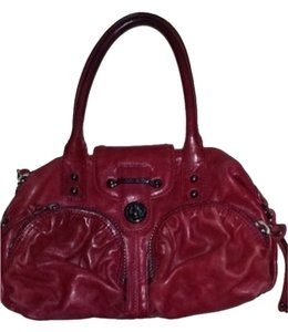 Botkier Satchel in Deep Red