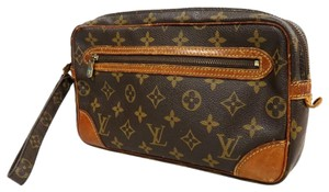 Louis Vuitton Vuiton brown Clutch