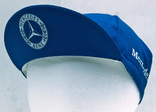 Mercedes Benz Mercedes Benz 1988 Vintage Boston Marathon Running & Cycling Hat Cap