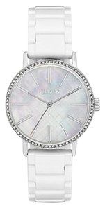 Chaps Chaps Women's Whitney Stainless Steel and White Ceramic Watch CHP3016