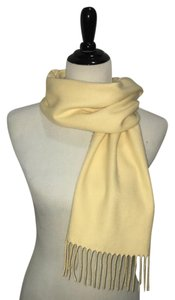 Other 100% cashmere yellow Scotland scarf