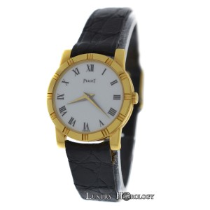 Piaget NOS Ladies Piaget Misura G0A09806 18K Solid Yellow Gold Quartz Watch