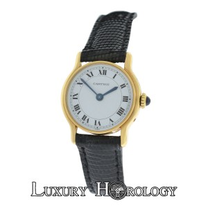 Cartier Ladies Cartier Made in Paris RARE EDITION 18K Solid Gold Mechanical