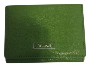 Tumi Green ID small wallet