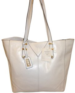 Badgley Mischka Nwt Leather X-lg Tote in White