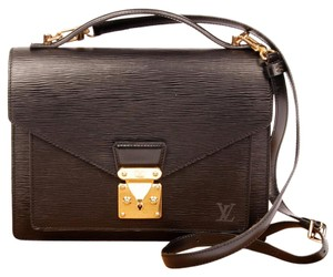 Louis Vuitton Monceau Strap Cross Body Bag