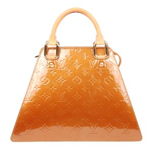 Louis Vuitton Vernis Forsyth Satchel in Bronze