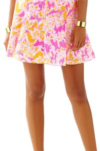 Lilly Pulitzer Skirt Kir royal pink, ooh la la. Pink, orange, white