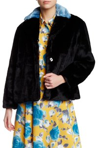 Marc by Marc Jacobs Faux Fur Boxy black Multi Jacket