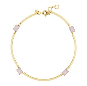 J.Crew Golde-tone Crystal Necklace
