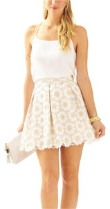 Lilly Pulitzer Skirt Gold metalli