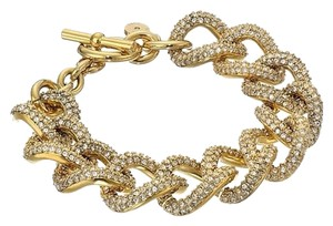 Michael Kors NWT Michael Kors Brilliance Pave Curb Toggle Bracelet this item has been reduced for New Years sale.