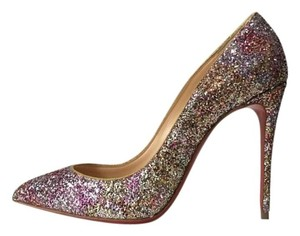 Christian Louboutin Pigalle Follies Rosette Pink Pumps