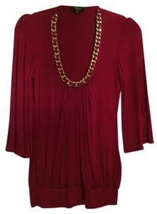 Sky Gold Hardware Top Red