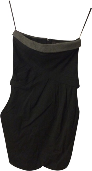 Preload https://item2.tradesy.com/images/black-and-grey-mini-short-casual-dress-size-4-s-1950141-0-0.jpg?width=400&height=650