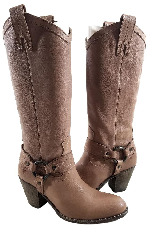 Frye Fawn Taylor Harness Boots/Booties Size US 7 Regular (M, B ...