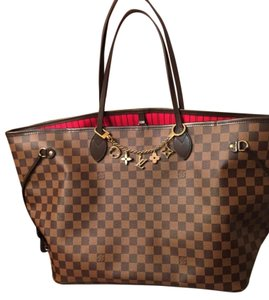 Louis Vuitton Tote in Brown red