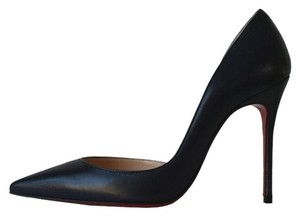 Christian Louboutin Iriza 100 Eclipse Navy Blue Pumps