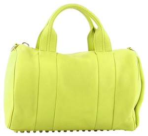 Alexander Wang Satchel in Yellow
