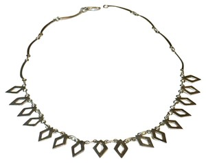 Other 925 Sterling Silver Collar Flat Necklace Chain Native