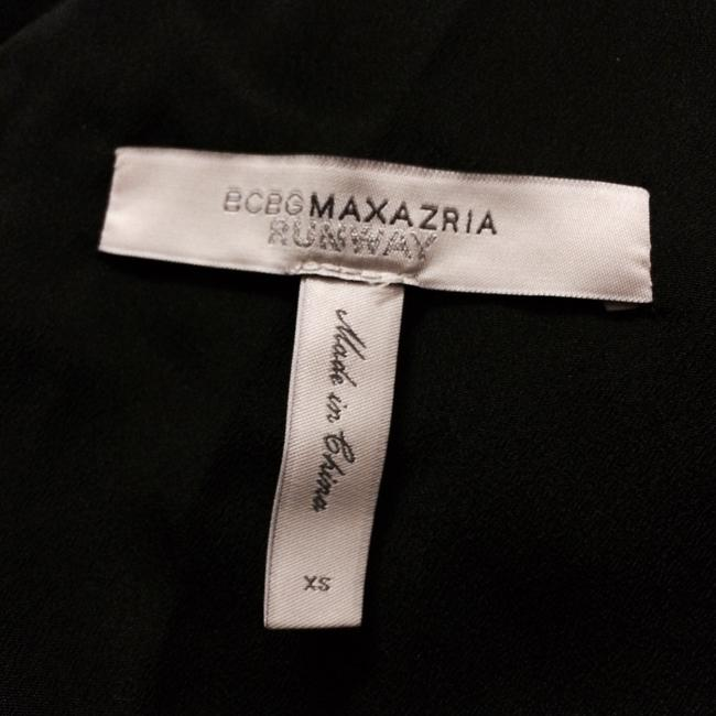 BCBGMAXAZRIA short dress Black Runway Collection on Tradesy