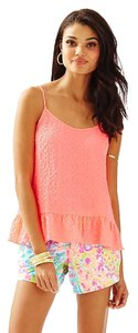 Lilly Pulitzer Top Pink Sun Ray