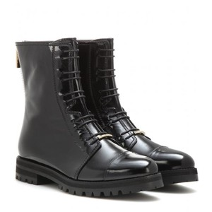 Jimmy Choo Italian Leather Black Boots