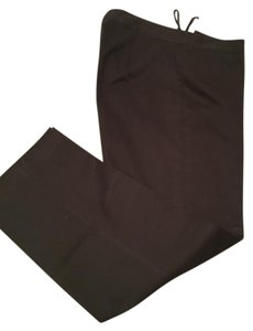 Charter Club Brown Other Women Formal Straight Pants Black