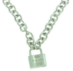 Tiffany & Co. New Tiffany & Co. Sterling Silver Necklace W Pouch