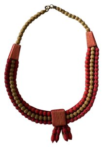 Anthropologie Cotton Necklace