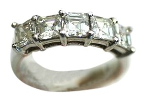 Diamond Band Asher Cut Diamond Band